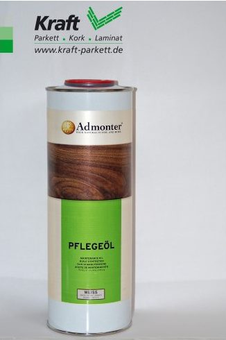 Admonter Pflegeöl Weiß (1L) für naturgeölte und weißnaturgeölte Oberflächen