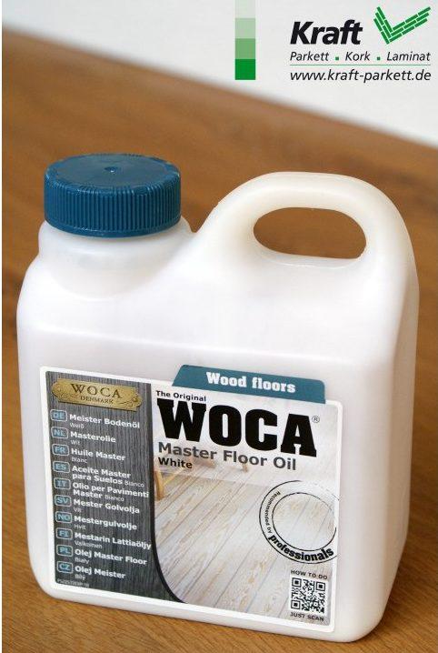 WOCA Meister Bodenöl 1L / Natur - Fussbodenöl für Holzböden