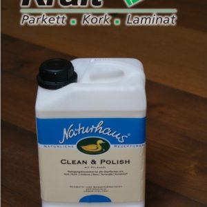 Naturhaus Clean & Polish 3L - Reinigung und Pflege von Holzoberflächen / 02300