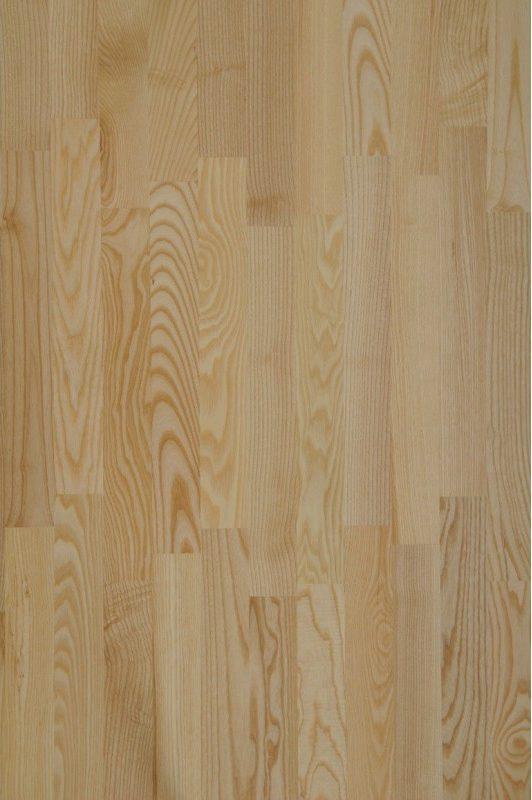 Esche natura | JASO Duo-Line 2-Schicht Stab-Parkett | 500x70x10 mm