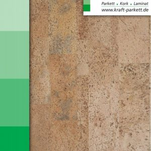 Kork Fertigparket - Rapid Sand Element Corknatura von Cortex - 905x295x10,5mm