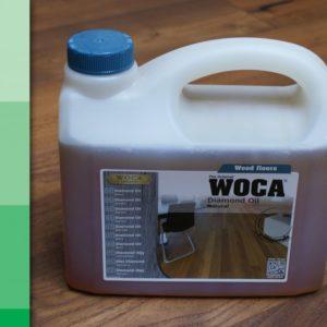 WOCA Diamond Oil Natur 2,5L / zur Erstbehandlung von Parkettböden