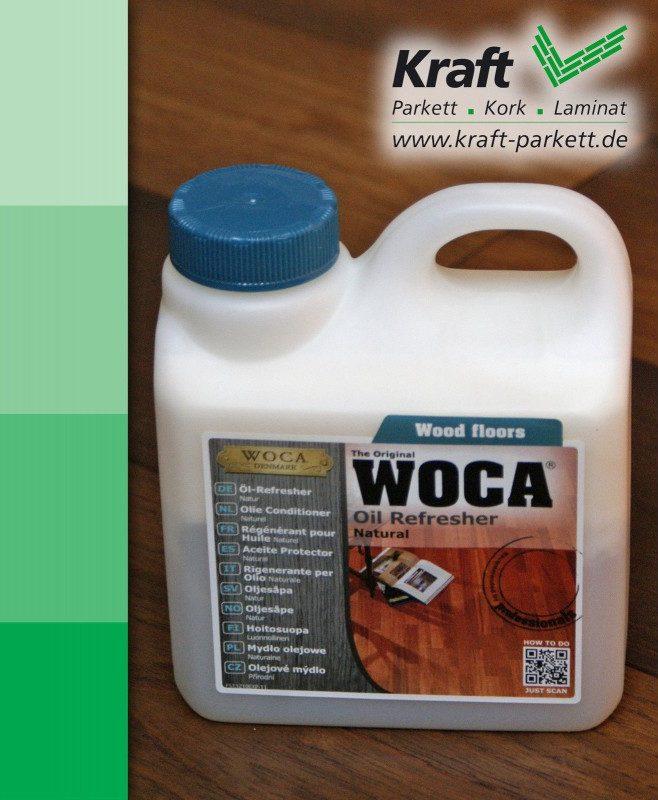 WOCA Öl Refresher Natur 1L / Reinigung und Auffrischung von geölten Holzböden