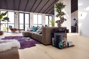 Eiche lebhaft cremeweiß gekälkt 8541 | Meister Parkett Cottage PD 400 | Landhausdiele mattlackiert