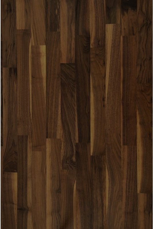 Black Walnut natura | JASO Duo-Line 2-Schicht Stab-Parkett | 500x70x10 mm