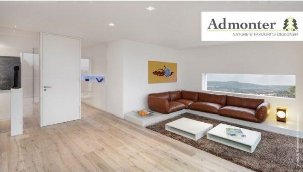 Eiche weiß rustic gebürstet | Admonter Parkett Landhausdiele | 2000 x 158 x 10 mm natur geölt