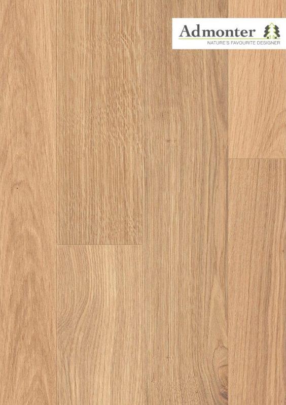 Eiche stone elegance gebürstet | Admonter Parkett Landhausdiele | 2000 x 192 x 15 mm natur geölt