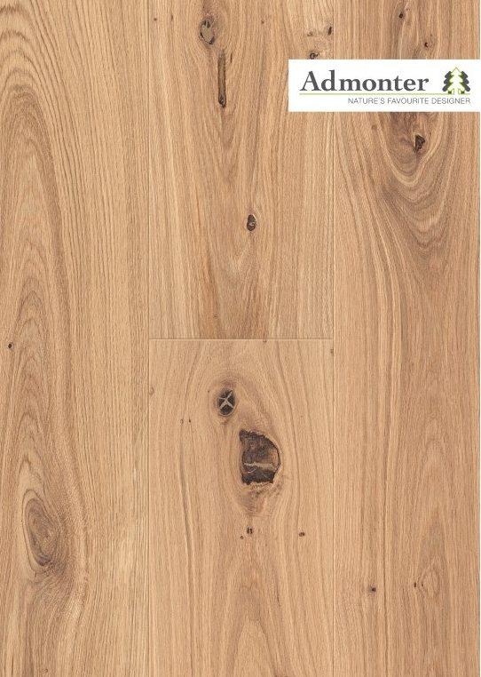 Eiche stone naturelle gebürstet | Admonter Parkett Landhausdiele | 2800 x 280 x 15 mm natur geölt
