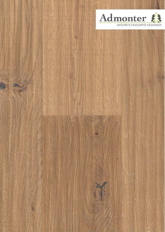 Eiche Salis rustic alpin | Admonter Parkett Landhausdiele | 2000 x 192 x 15 mm natur geölt