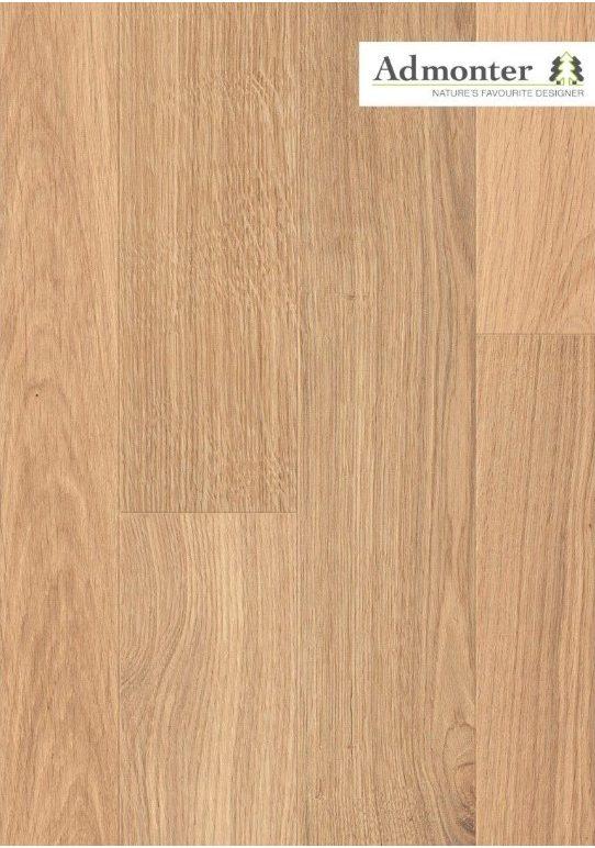Eiche stone noblesse gebürstet | Admonter Parkett Landhausdiele | 2000 x 192 x 15 mm natur geölt