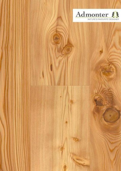 Lärche rustic gebürstet | Admonter Parkett Landhausdiele | 2400 x 195 x 15 mm natur geölt