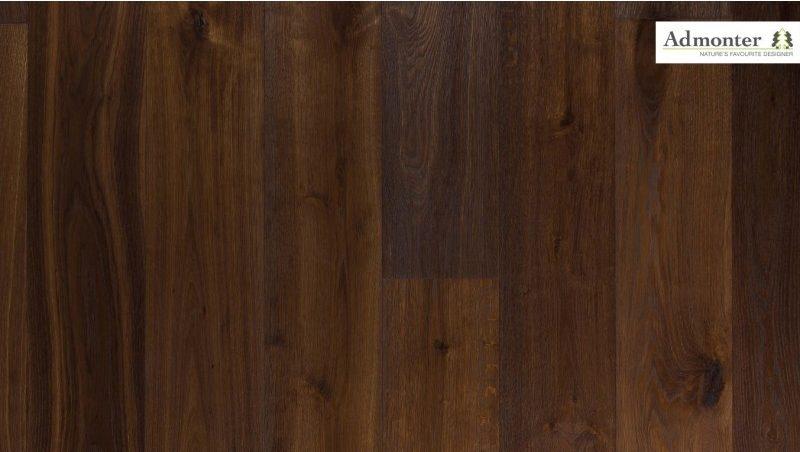 Eiche Aurum rustic gebürstet | Admonter Parkett Landhausdiele | 2000 x 192 x 15 mm natur geölt